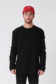 WAFFLE LONG SLEEVE TEE-mens--BONEYARD // PUKEKOHE - HOME