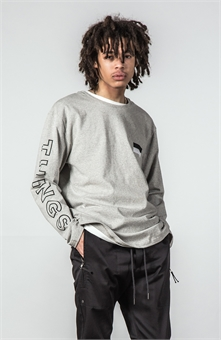 FLAG HVY LONG SLEEVE  TEE-mens--BONEYARD // PUKEKOHE - HOME