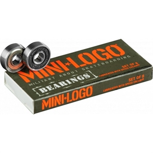 MINI LOGO BEARINGS 8MM-accessories-BONEYARD // PUKEKOHE - HOME