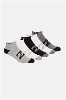 ANKLE SOCK 5 PACK-socks-BONEYARD // PUKEKOHE - HOME
