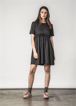 PRIORITY DRESS BLACK-womens-BONEYARD // PUKEKOHE - HOME
