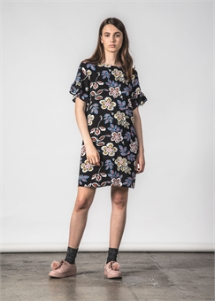 CAREFUL DRESS HIBISCUS-womens-BONEYARD // PUKEKOHE - HOME