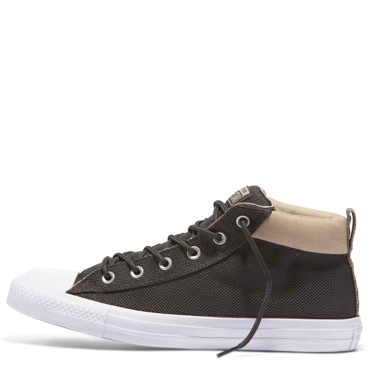 71602b50e33e9f CHUCK TAYLOR STREET SPORTS NYLON MID BLACK - Mens -Footwear   Urban ...