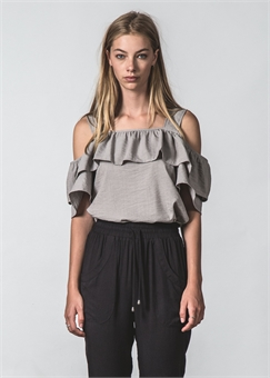FOLLWOING TOP DRAPEY OAT-womens-BONEYARD // PUKEKOHE - HOME
