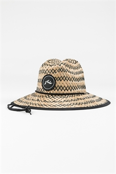 YOUTH BOONY STRAW WEAVE HAT-youth-and-kids-BONEYARD // PUKEKOHE - HOME