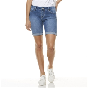 KNEE LENGTH SHORT SAINT BLUE-womens-BONEYARD // PUKEKOHE - HOME