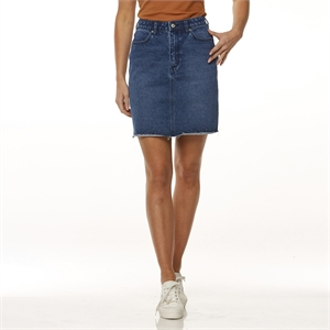 HI BIRKIN SKIRT BLUE REVERENCE-womens-BONEYARD // PUKEKOHE - HOME
