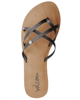 WOMENS NEW SCHOOL SANDAL-volcom-BONEYARD // PUKEKOHE - HOME