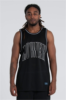 B- BALL SINGLET-mens--BONEYARD // PUKEKOHE - HOME