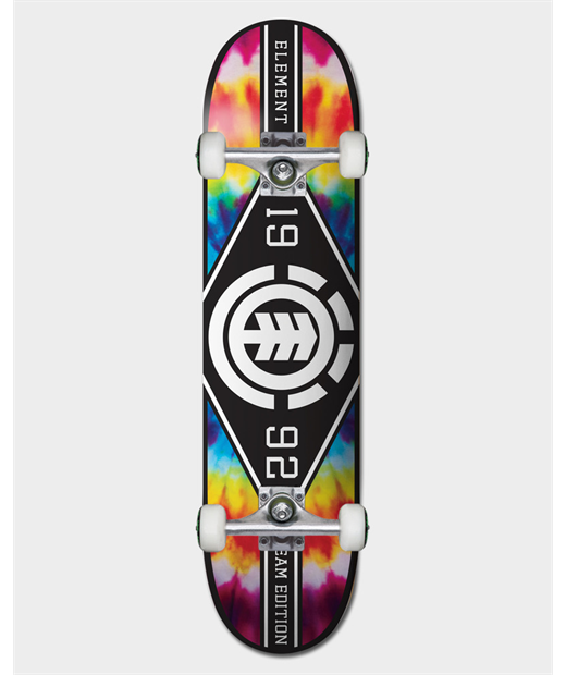 TYE DYE MAJOR LEAGUE 8.0 COMPLETE SKATEBOARD