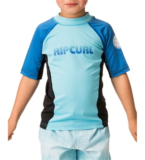 BOYS UNDERTOW SHORTSLEEVE UV TEE RASH VEST-youth-and-kids-BONEYARD // PUKEKOHE - HOME