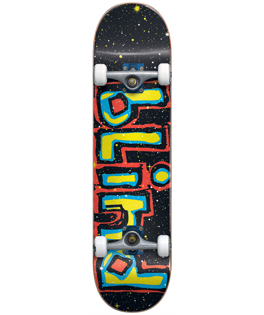 BLIND PRINT SIZED YOUTH FIRST PUSH COMPLETE SKATEBOARD