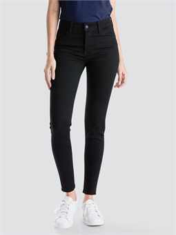 720 HIGHRISE SUPER SKINNY BLACK GALAXY-jeans-BONEYARD // PUKEKOHE - HOME