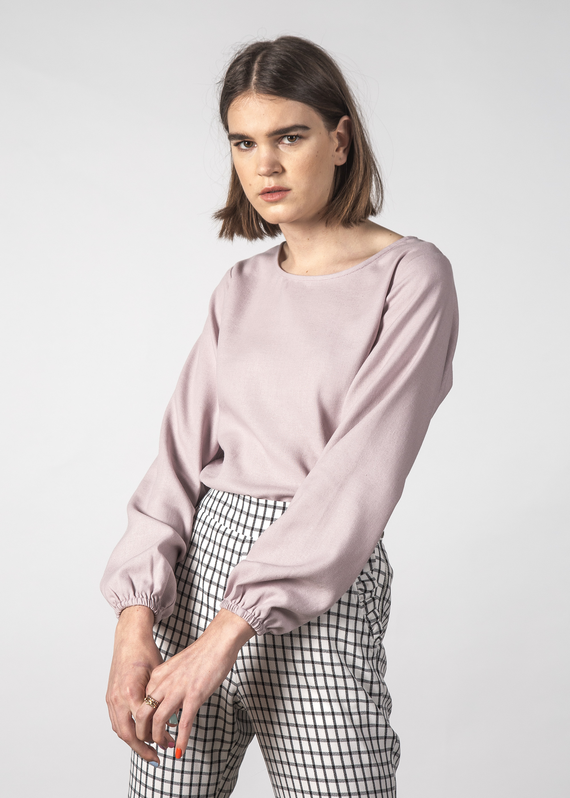 c6f64a9766c4f3 CLOUD TOP MAUVE - Womens-Tops : Urban Streetwear Fashion, Skater & Surf  Clothes Online Auckland NZ - THING THING AU19