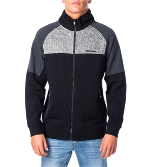 PILL PANEL ZIP THRU CREW-mens--BONEYARD // PUKEKOHE - HOME