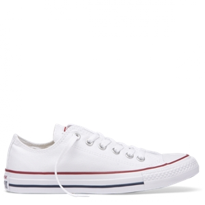 CHUCK TAYLOR CANVAS LOW TOP WHITE-mens--BONEYARD // PUKEKOHE - HOME