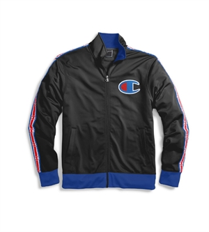 TRACK JACKET WITH TAPE-mens--BONEYARD // PUKEKOHE - HOME