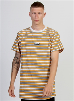 LOOK TEE STRIPED BADGE-mens--BONEYARD // PUKEKOHE - HOME