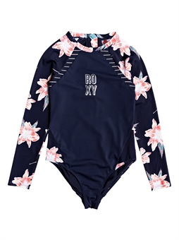 TEEN ROXY SHORELINE RASHGUARD-youth-and-kids-BONEYARD // PUKEKOHE - HOME