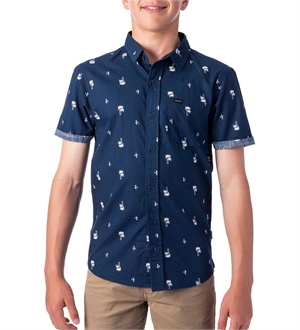 YOUTH PLAM DAYS SHORTSLEEVE SHIRT-youth-and-kids-BONEYARD // PUKEKOHE - HOME