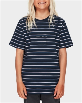 YOUTH INDIE STRIPE TEE-youth-and-kids-BONEYARD // PUKEKOHE - HOME