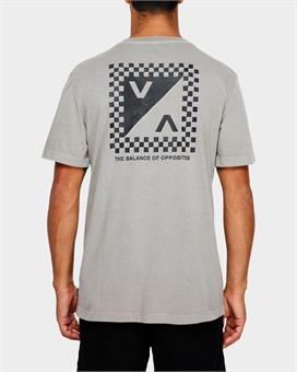 CHECK MATE SHORTSLEEVE TEE-mens--BONEYARD // PUKEKOHE - HOME