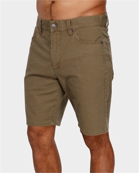DAGGERS TWILL SHORT-mens--BONEYARD // PUKEKOHE - HOME