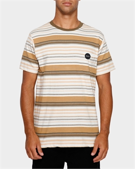 DEADBEAT STRIPE TEE-mens--BONEYARD // PUKEKOHE - HOME
