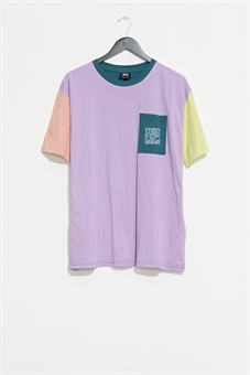 WOMENS ANNIE PANELLED OVER SIZE  TEE-womens-BONEYARD // PUKEKOHE - HOME