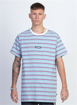 AYE TEE STRIPED BADGE-mens--BONEYARD // PUKEKOHE - HOME