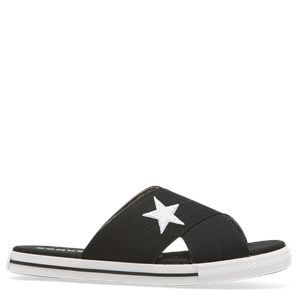 ONE STAR CANVAS SANDAL BLACK-converse-BONEYARD // PUKEKOHE - HOME