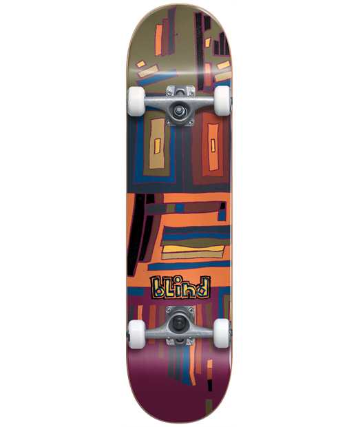 BLIND GEO MAP FP COMPLETE SKATEBOARD