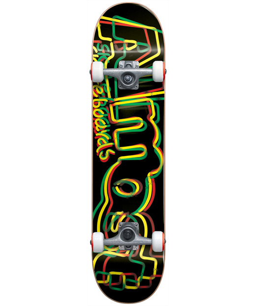 ALMOST NEON FP COMPLETE SKATEBOARD