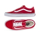 OLD SKOOL RACING RED TRUE WHITE