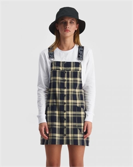 CHECKS TESSA DRESS-womens-BONEYARD // PUKEKOHE - HOME