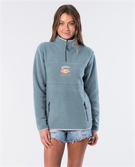 RAINBOW SEARCH 1/4 ZIP-womens-BONEYARD // PUKEKOHE - HOME