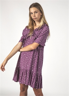 JOYFUL DRESS LILAC BLOTCH-womens-BONEYARD // PUKEKOHE - HOME