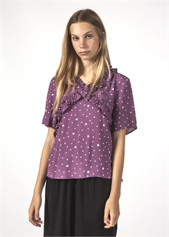 JOYOUS TOP LILAC BLOTCH-womens-BONEYARD // PUKEKOHE - HOME