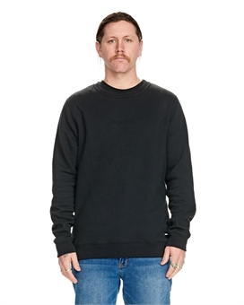 DOT EMBOSS CREW FLEECE-mens--BONEYARD // PUKEKOHE - HOME