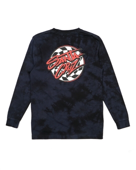 YOUTH BURNDOWN DOT LONGSLEEVE TEE-youth-and-kids-BONEYARD // PUKEKOHE - HOME