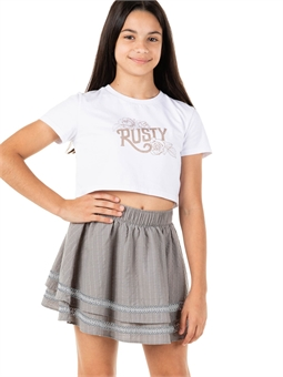 TEEN BREEZY SKIRT -youth-and-kids-BONEYARD // PUKEKOHE - HOME