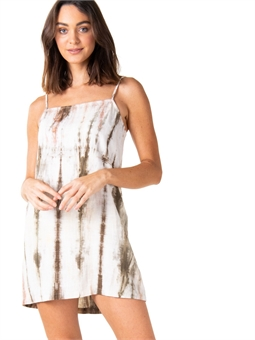 MARBLE MINI DRESS CAPULET OLIVE-womens-BONEYARD // PUKEKOHE - HOME