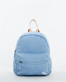 DENIM MINI 10L GOLDEN DAY BACK PACK-womens-BONEYARD // PUKEKOHE - HOME