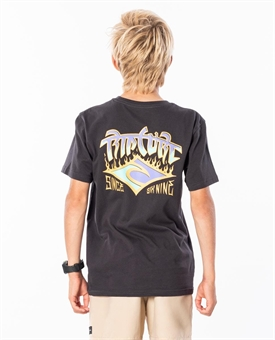 YOUTH BLAZEN ARCH TEE-youth-and-kids-BONEYARD // PUKEKOHE - HOME