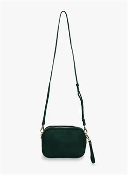 THE ALL TIMES LEATHER BAG FOREST GREEN-womens-BONEYARD // PUKEKOHE - HOME