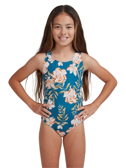 TEEN SUMMER OF SURF ONE PIECE SWIMSUIT-youth-and-kids-BONEYARD // PUKEKOHE - HOME
