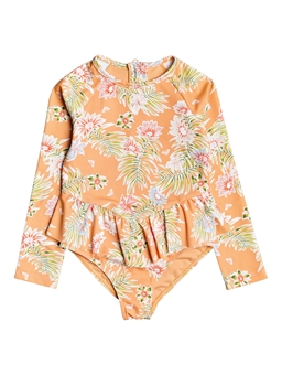 TODDLER FLORASEA LONGSLEEVE UPF50 ONESIE SWIMSUIT-youth-and-kids-BONEYARD // PUKEKOHE - HOME