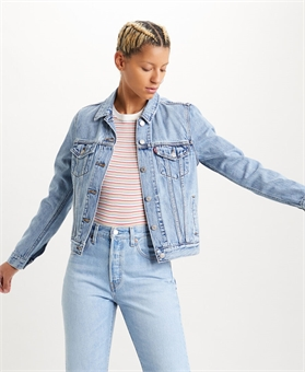 ORIGINAL TRUCKER JACKET ALL MINE-womens-BONEYARD // PUKEKOHE - HOME